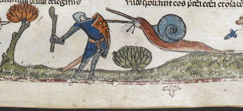 Snigeln under medeltiden