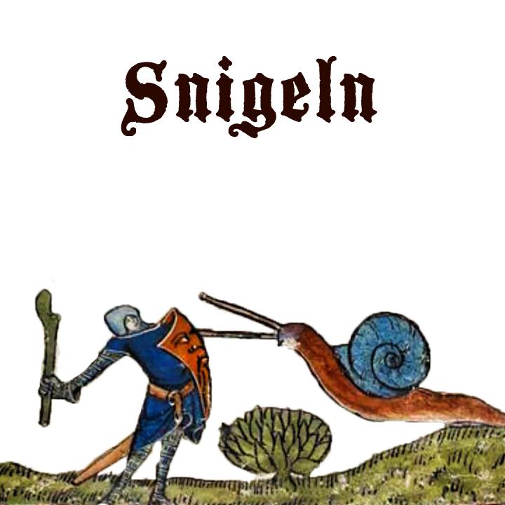 Snigeln på medeltidsveckan 2019
